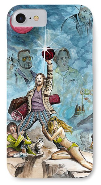 The Big Lebowski IPhone Case by James Holko