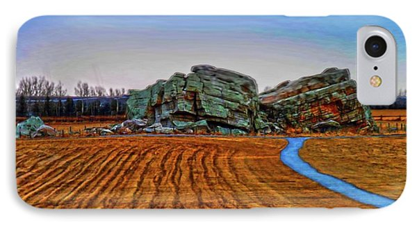 The Big Rock - Hdr IPhone Case