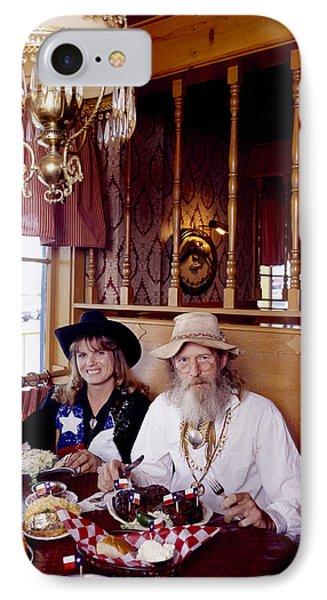 The Big Texan Restaurant, Amarillo, Texas IPhone Case by Carol M Highsmith