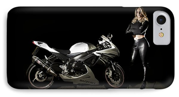 The Biker IPhone Case by Paul Neville