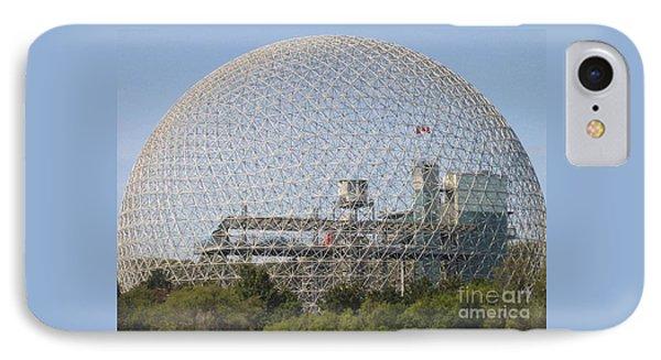 The Biosphere  Ile Sainte-helene Montreal Quebec IPhone Case