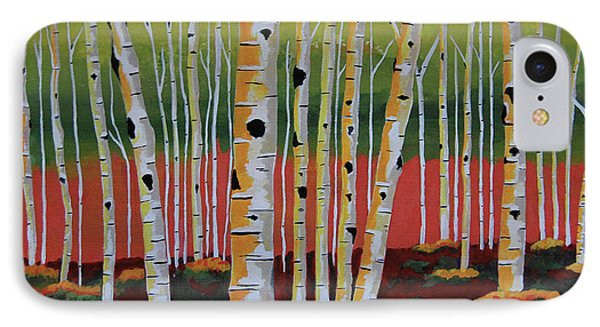 The Birch Forest IPhone Case