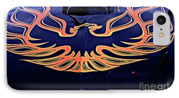 The Bird - Pontiac Trans Am IPhone Case by Jane Eleanor Nicholas
