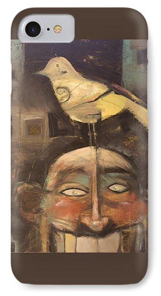 The Birdman Of Alcatraz IPhone Case by Tim Nyberg
