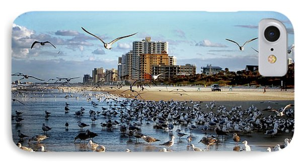 The Birds IPhone Case by Jim Hill