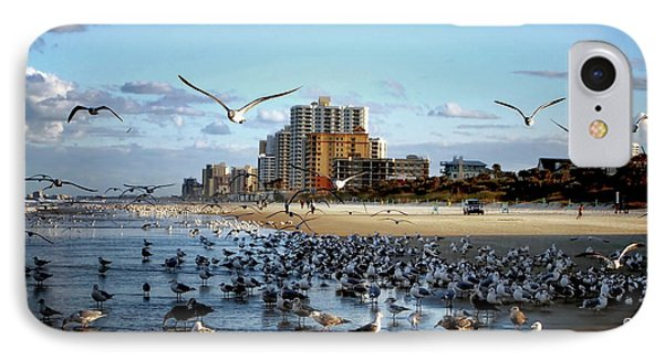 IPhone Case featuring the photograph The Birds by Jim Hill