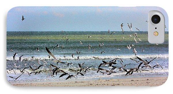 The Birds IPhone Case by Kristin Elmquist