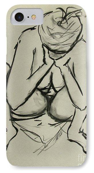 The Birth Of Art Phone Case by Peter Piatt