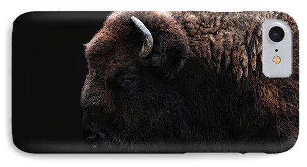 Bison iPhone 7 Case - The Bison by Joachim G Pinkawa