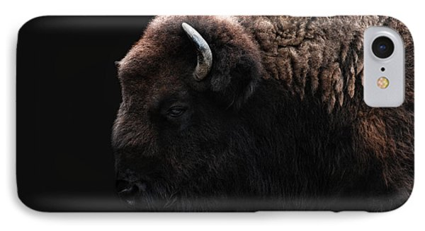 The Bison IPhone Case by Joachim G Pinkawa