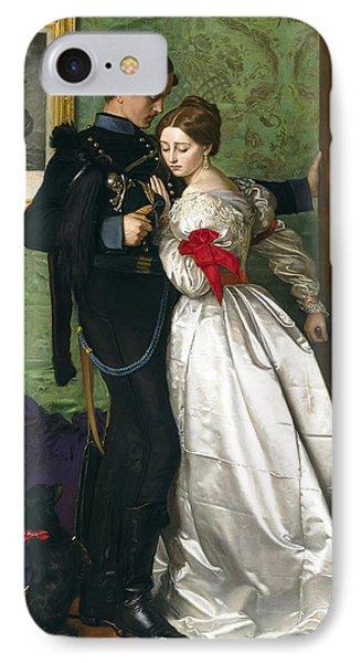 The Black Brunswicker IPhone Case by Sir John Everett Millais