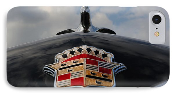 The Black Cadillac Angel - Cadillac Emblem  IPhone Case