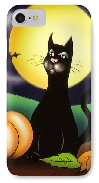 The Black Cat IPhone Case