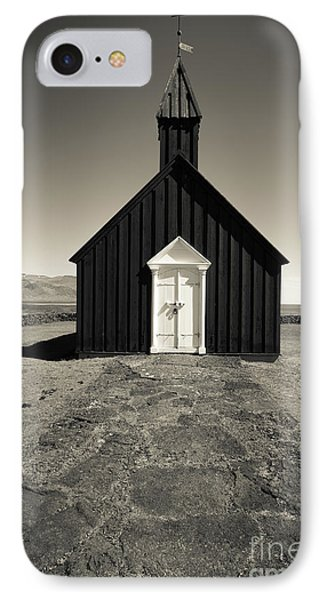 IPhone Case featuring the photograph The Black Church by Edward Fielding