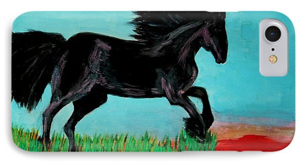 The Black Stallion IPhone Case