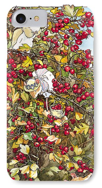 The Blackthorn Bush IPhone Case by Brambly Hedge