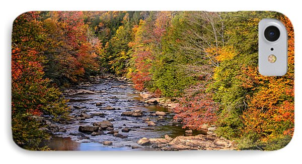 The Blackwater River In Autumn Color IPhone Case
