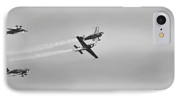 IPhone Case featuring the photograph The Blades Aerial Gymnastics Sunderland Air Show 2014 by Scott Lyons