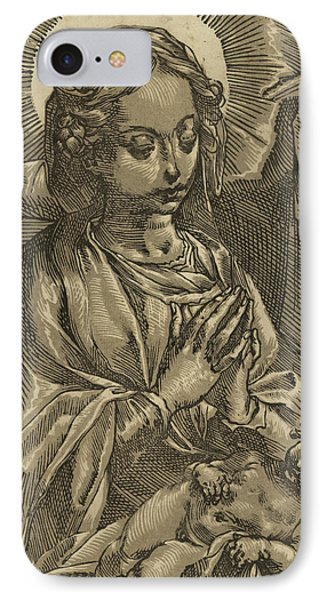 The Blessed Virgin IPhone Case