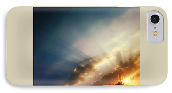 The Blink Of The Sun IPhone Case by Eva Maria Nova
