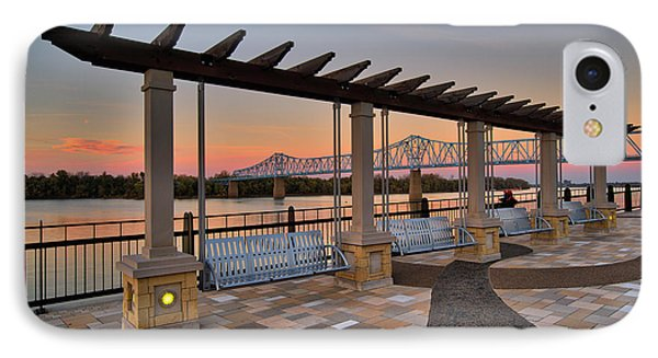 The Blue Bridge From Smothers Park IPhone Case