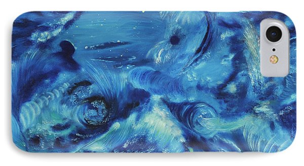 The Blue Hole Phone Case by Regina Wirsich Roberts