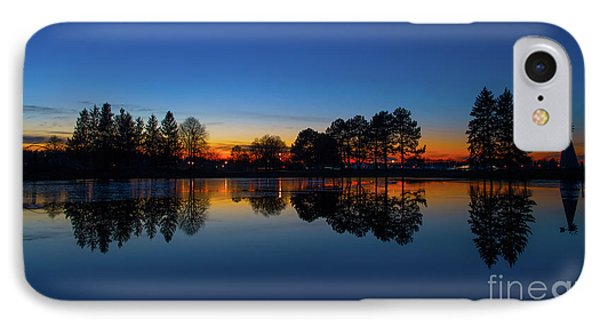 IPhone Case featuring the photograph The Blue Hour.. by Nina Stavlund
