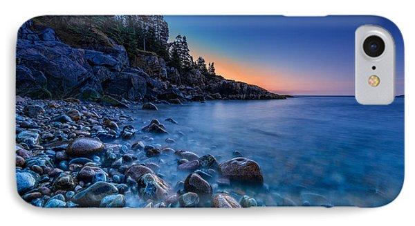The Blue Hour On Little Hunter's Beach IPhone Case by Rick Berk