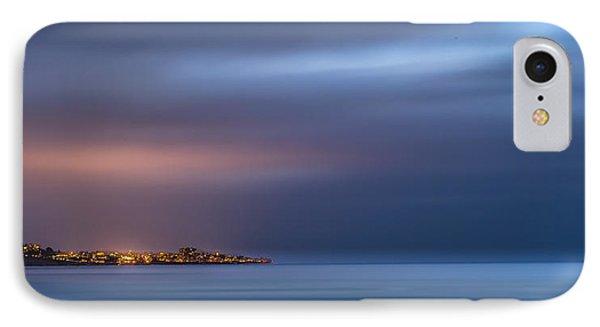 The Blue Jewel - La Jolla IPhone Case by Peter Tellone