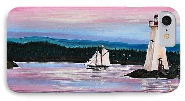 The Blue Nose II At Baddeck Nova Scotia IPhone Case by Patricia L Davidson