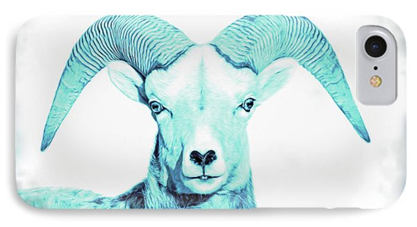 IPhone Case featuring the photograph The Blue Ram by Jennie Marie Schell