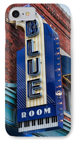 The Blue Room Sign IPhone Case