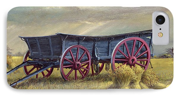 The Blue Wagon IPhone Case