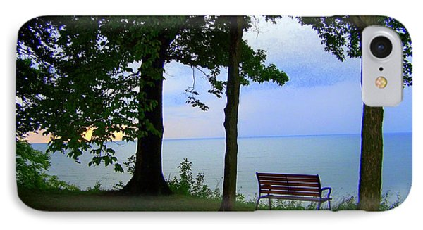 The Bluffs Bench IPhone Case