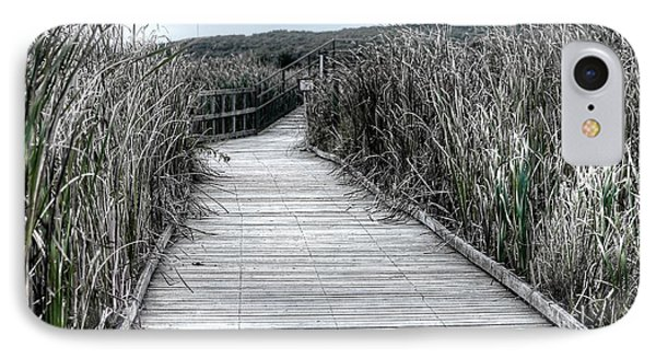 IPhone Case featuring the photograph The Boardwalk by Michaela Preston