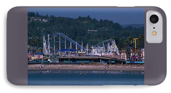 The Boardwalk - Santa Cruz California IPhone Case by Soli Deo Gloria Wilderness And Wildlife Photography
