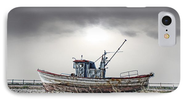 The Boat IPhone Case by Angel Jesus De la Fuente