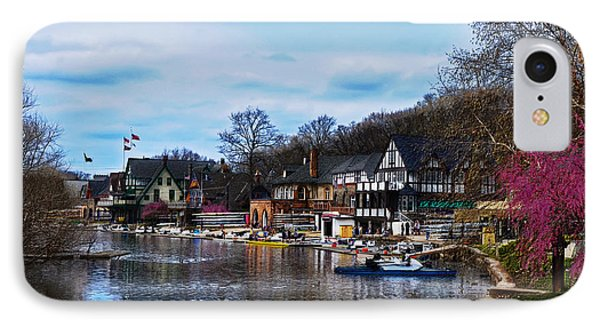 The Boat House Row IPhone Case
