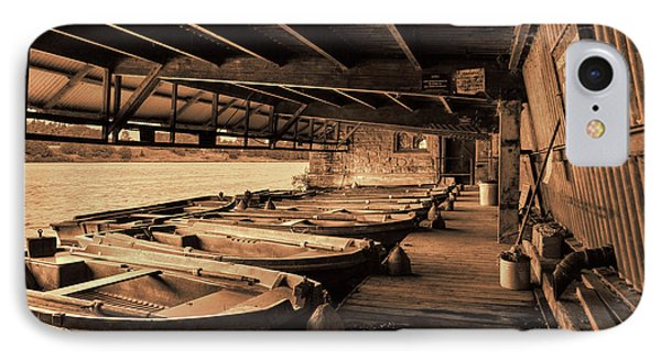 IPhone Case featuring the photograph The Boat House  by Scott Carruthers