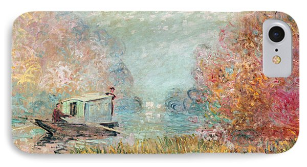 The Boat Studio On The Seine IPhone Case
