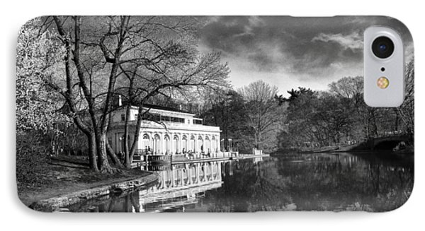 The Boathouse Of Prospect Park II IPhone Case by Jessica Jenney