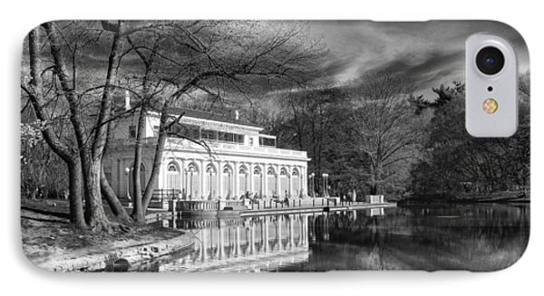 The Boathouse Of Prospect Park IPhone Case by Jessica Jenney