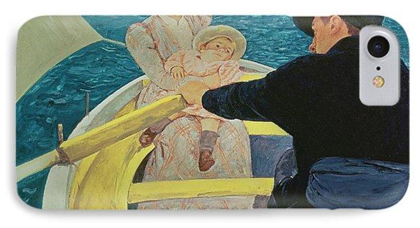 The Boating Party Phone Case by Mary Stevenson Cassatt
