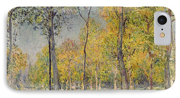The Bois De Boulogne Phone Case by Alfred Sisley