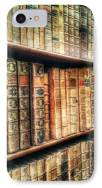 The Bookcase IPhone Case by Isabella F Abbie Shores FRSA