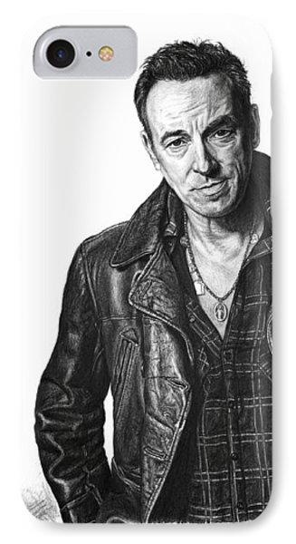 The Boss - Bruce Springsteen IPhone Case
