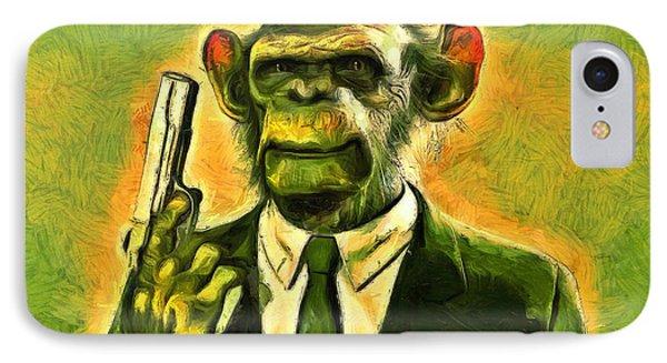 The Boss - Da IPhone Case by Leonardo Digenio