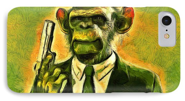 The Boss - Pa IPhone Case by Leonardo Digenio