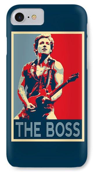 The Boss IPhone Case by Twan Urselmann