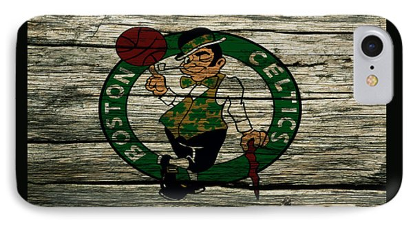 The Boston Celtics 2w IPhone Case by Brian Reaves